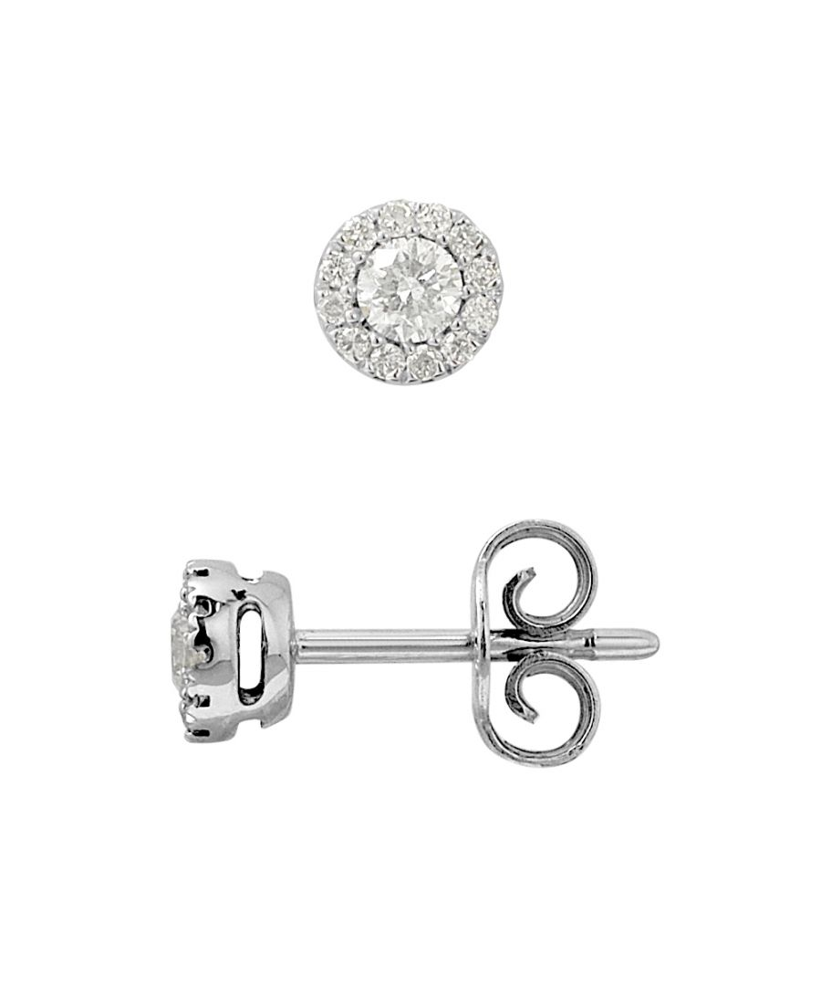 Image for DIADEMA - Earrings with Diamonds - White Gold