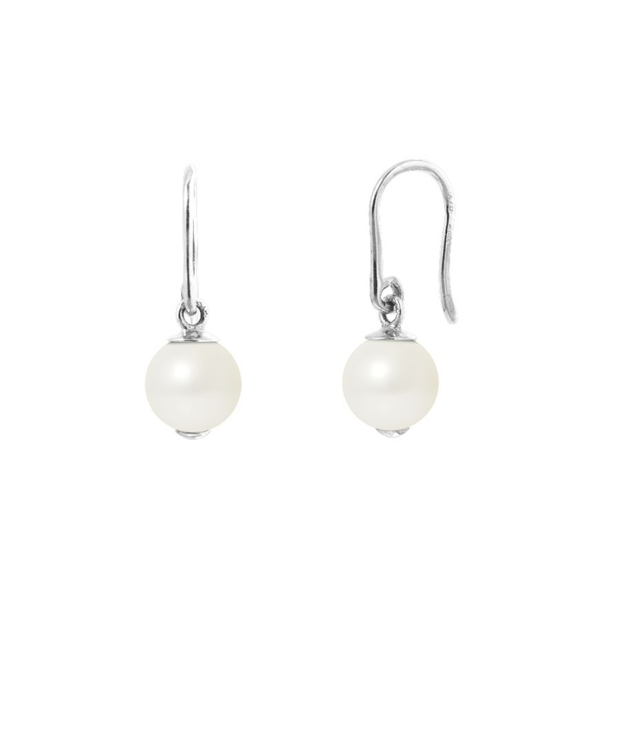 Image for DIADEMA - Earrings - Silver and Real Freshwater Pearls