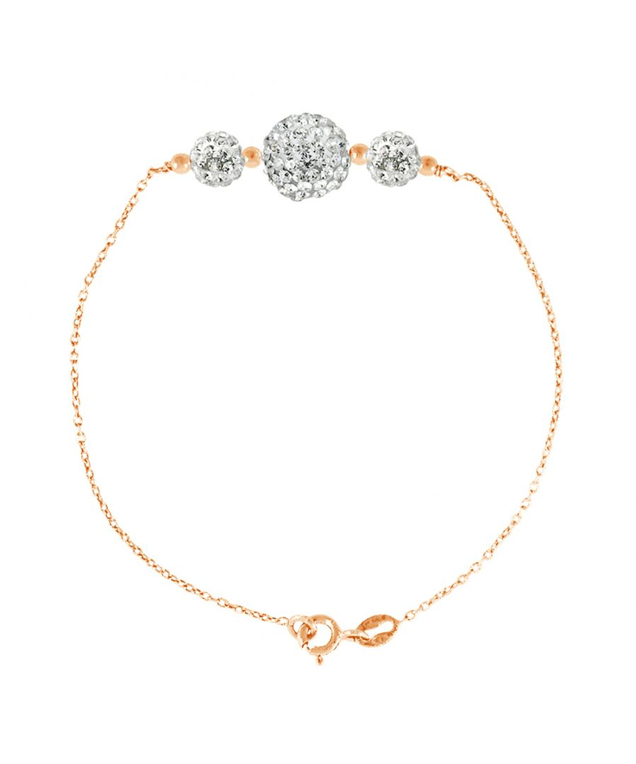 Image for DIADEMA - Bracelet Trilogy - Pinky Gold - Love Jewelry Collection