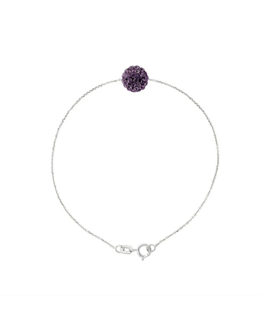 Image for DIADEMA - Bracelet - Purple Crystal - Love Jewelry Collection