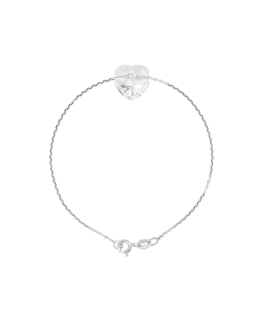 Image for DIADEMA - Bracelet Swarovski Heart - Love Jewelry Collection