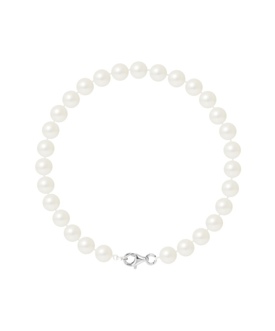 Image for DIADEMA - Bracelet - Real Freshwater Pearls - Silver