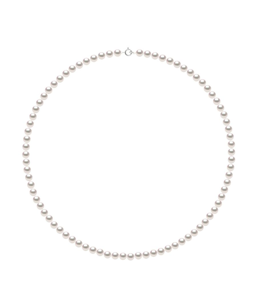 Image for DIADEMA - Necklace - Real Japanese Akoya Cultured Pearl - White Gold