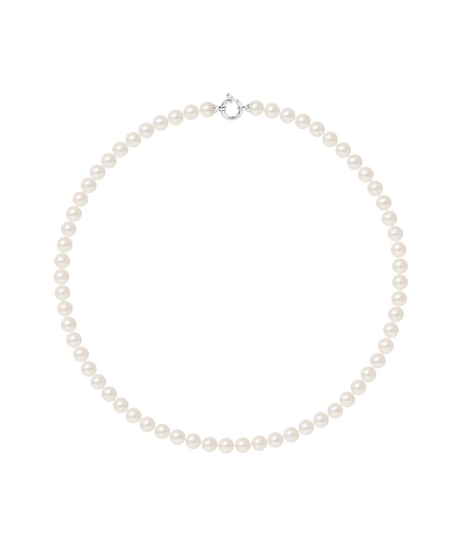 Image for DIADEMA - Necklace - Real Japanese Akoya Cultured Pearl - White