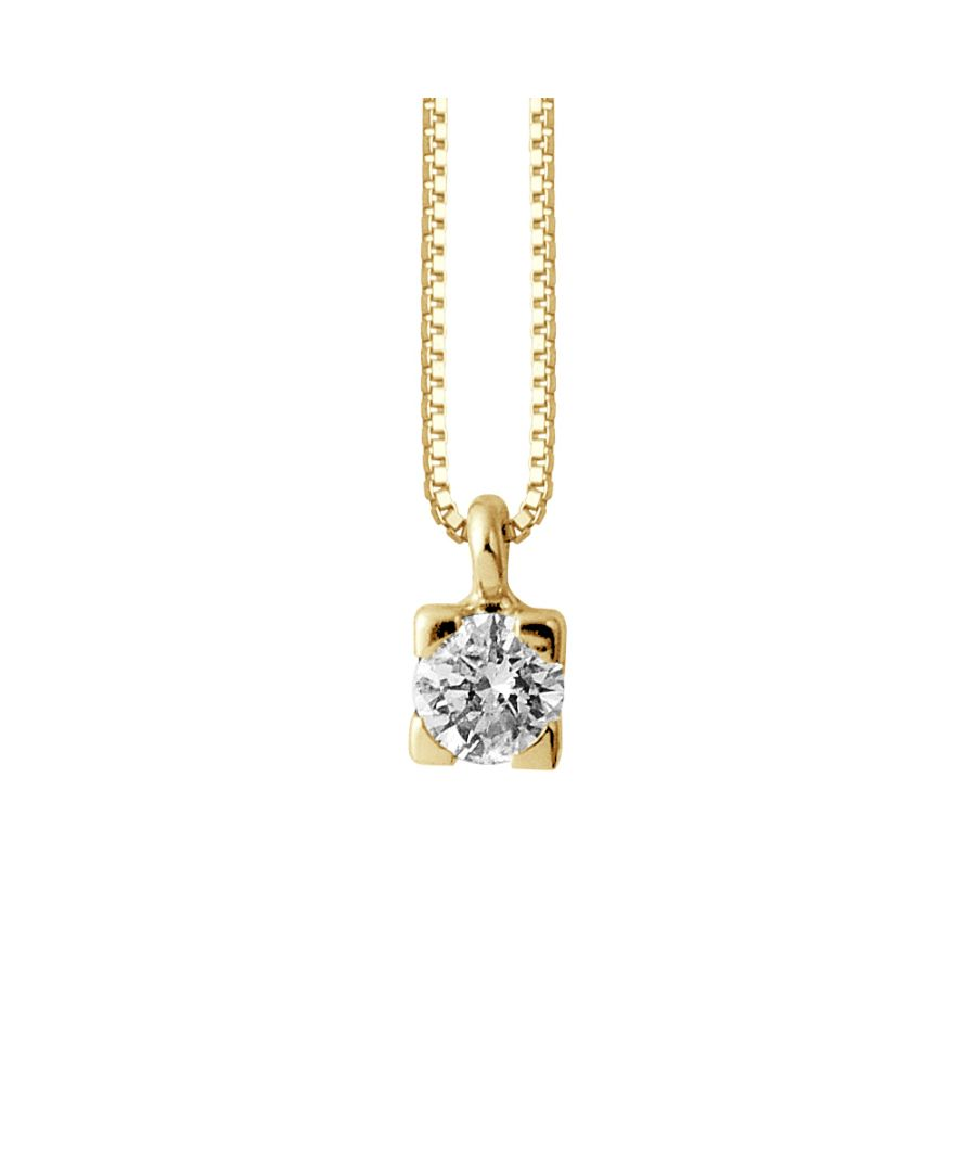 Image for DIADEMA - Necklace with Diamonds - Yellow Gold - Venetian Chain