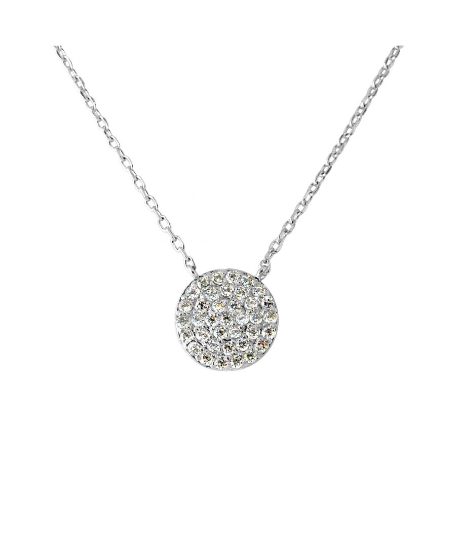 Image for DIADEMA - Necklace - Pure White - Collection Crystal Pearl