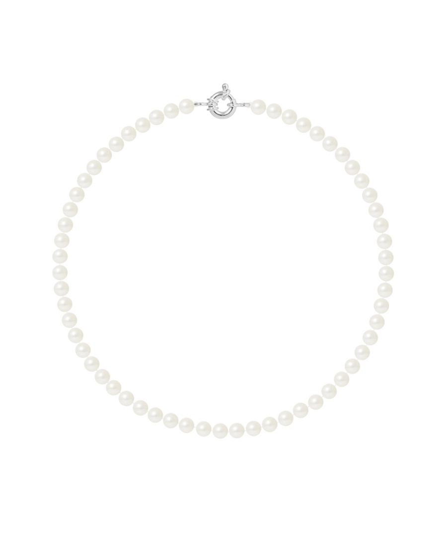 Image for DIADEMA - Necklace - Real Freshwater Pearls - Silver
