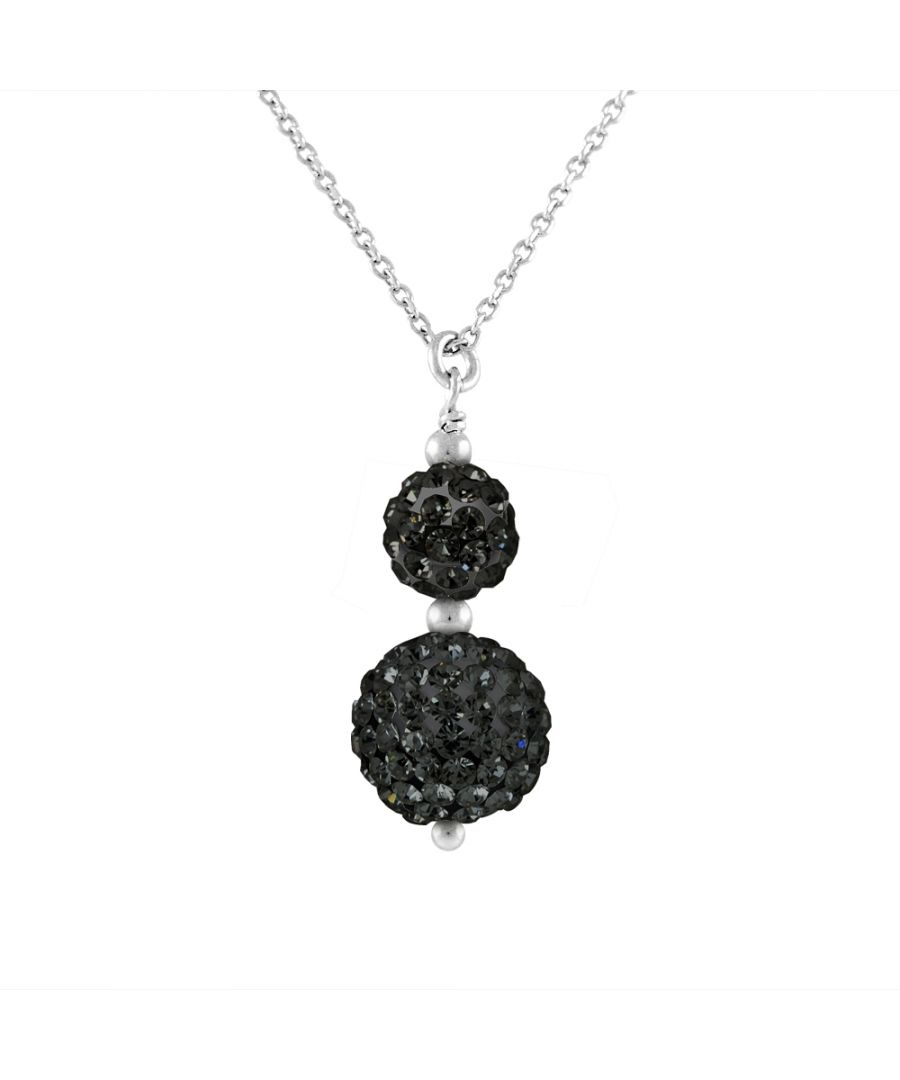 Image for DIADEMA - Necklace Black Night - Crystal Black - Love Jewelry Collection