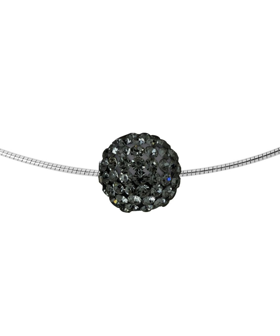 Image for DIADEMA - Necklace Black Night - Black Crystal - Love Jewelry Collection