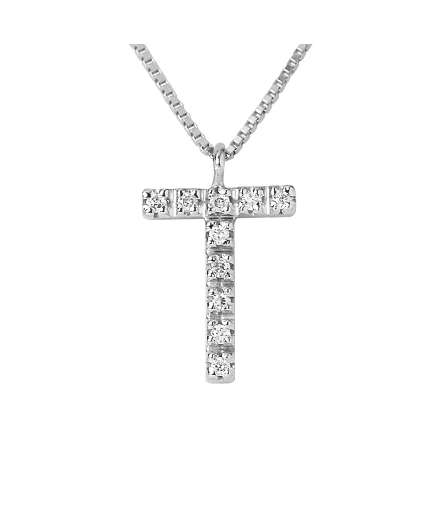 Image for DIADEMA - Necklace with Diamonds - T - White Gold