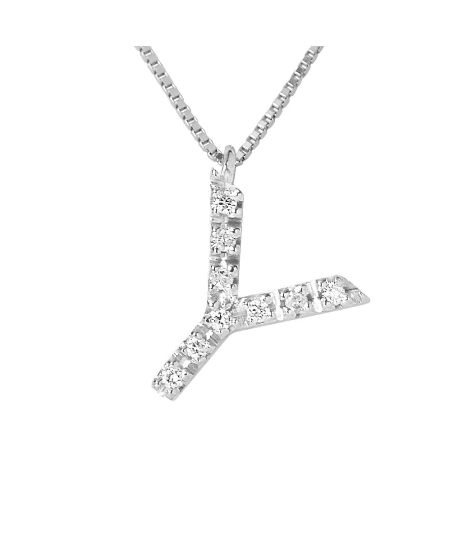 Image for DIADEMA - Necklace with Diamonds - Y - White Gold