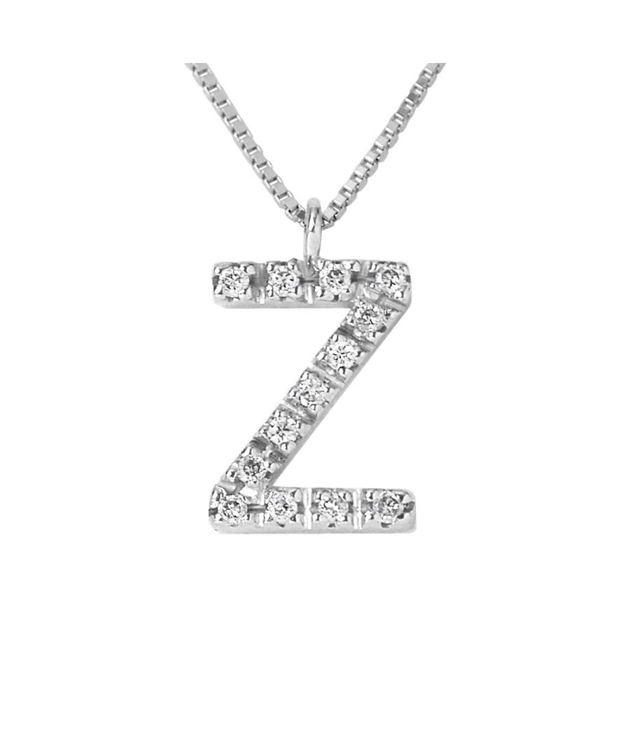 Image for DIADEMA - Necklace with Diamonds - Z - White Gold