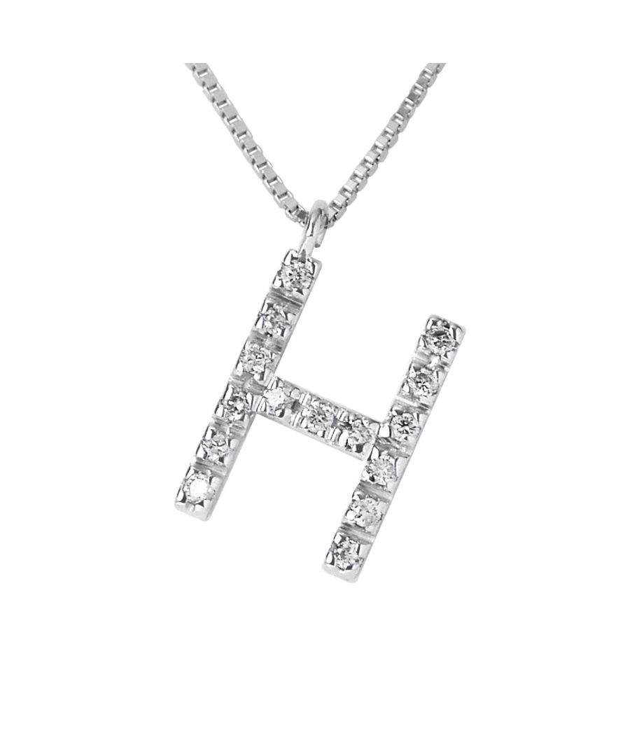 Image for DIADEMA - Necklace with Diamonds - H -White Gold