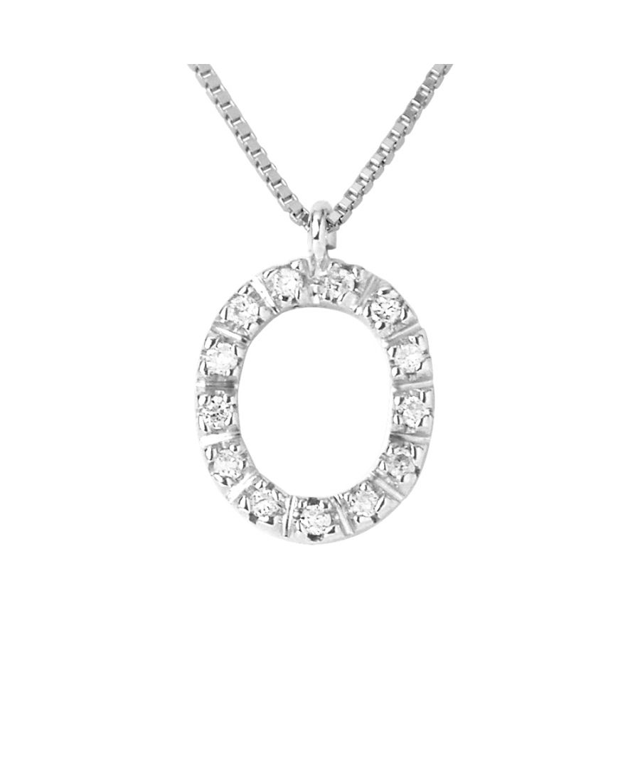 Image for DIADEMA - Necklace with Diamonds - O - White Gold - Chaine Véntienne