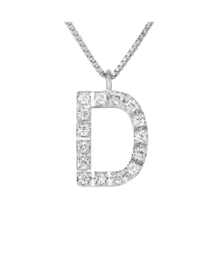 Image for DIADEMA - Necklace with Diamonds - D -White Gold