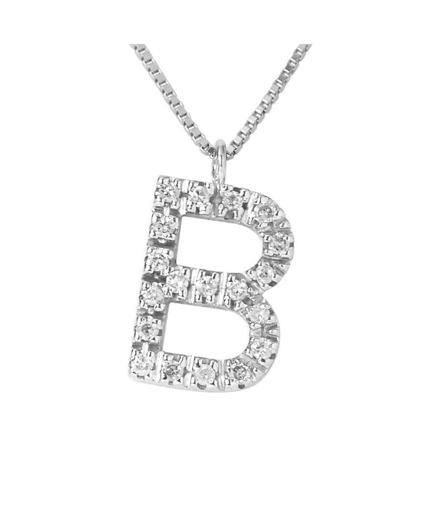 Image for DIADEMA - Necklace with Diamonds - B -White Gold