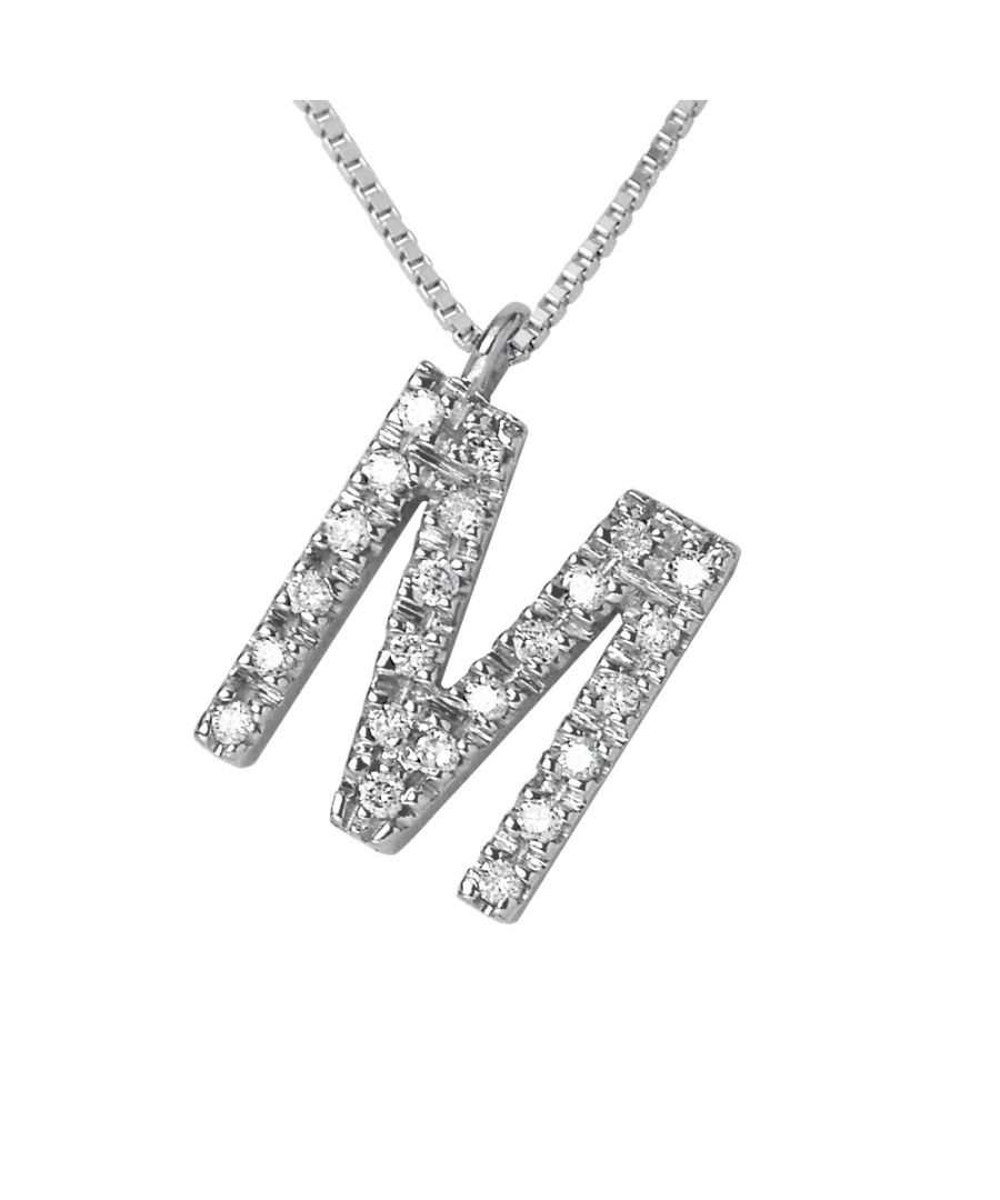 Image for DIADEMA - Necklace with Diamonds - M - White Gold