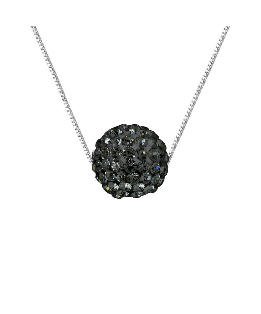 Image for DIADEMA - Necklace - Crystal Black - Love Jewelry Collection