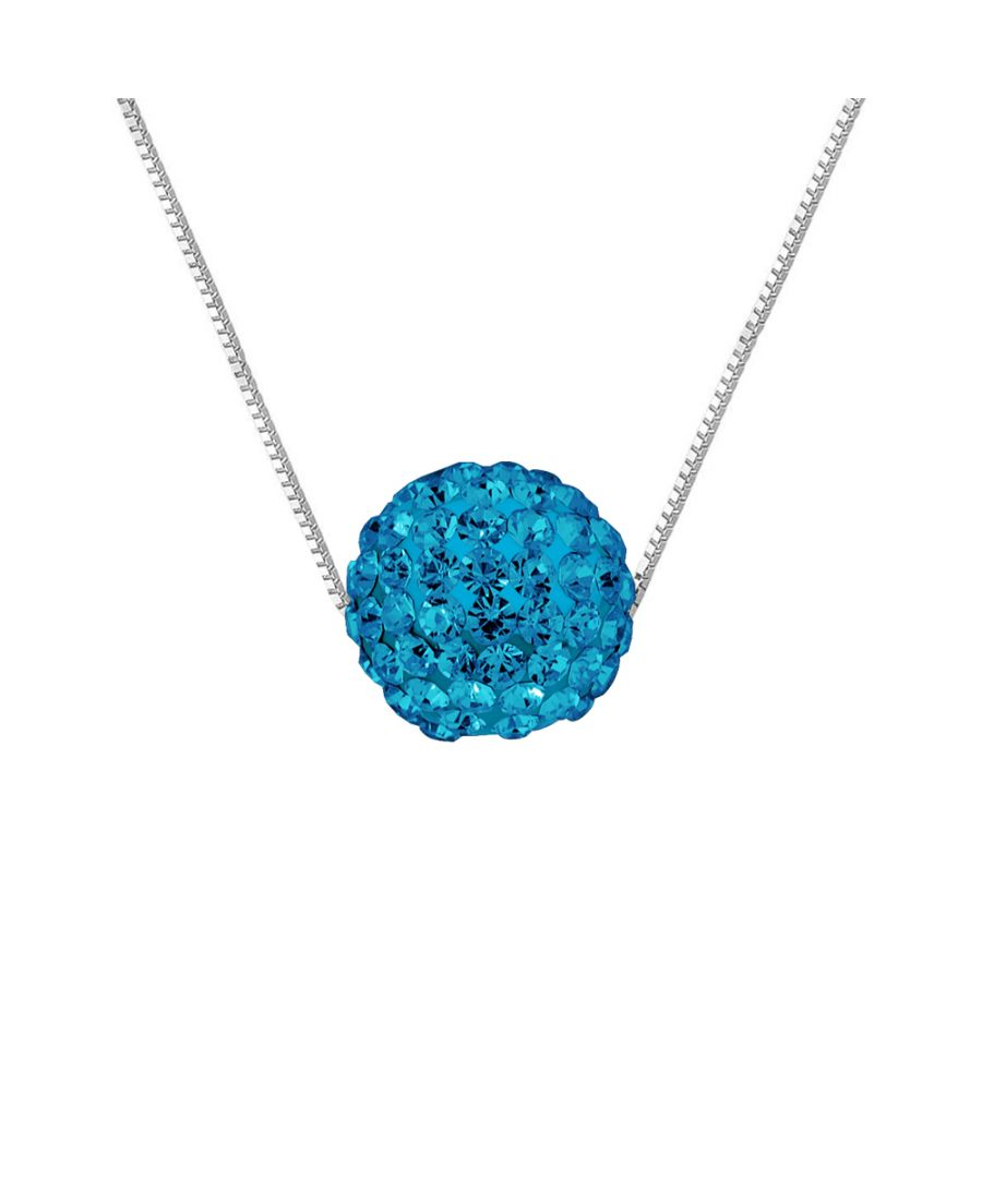Image for DIADEMA - Necklace - Crystal Blue - Love Jewelry Collection