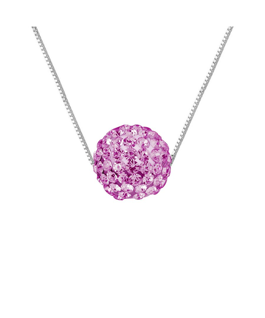 Image for DIADEMA - Necklace - Crystal Pink - Love Jewelry Collection