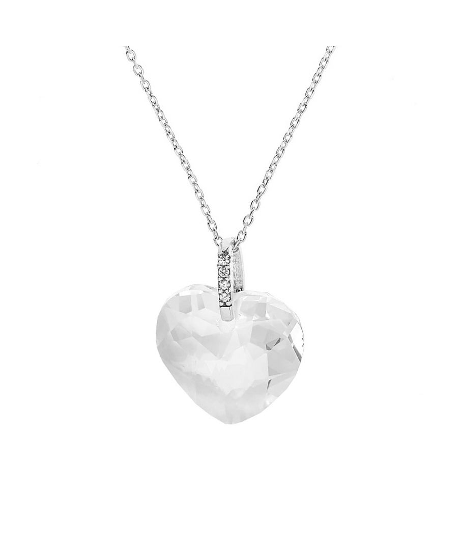 Image for DIADEMA - Necklace - Swarovski Heart - Love Jewelry Collection