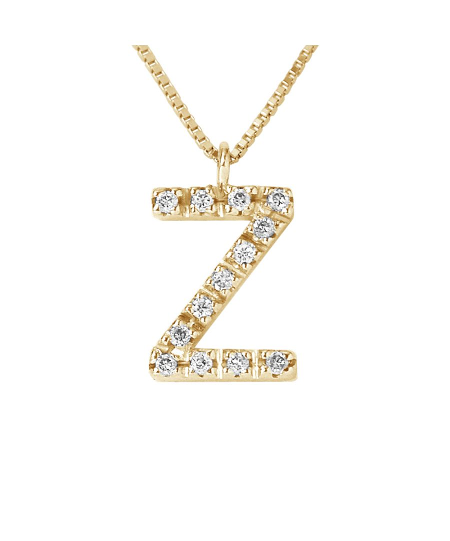 Image for DIADEMA - Necklace with Diamonds - Z -Yellow Gold