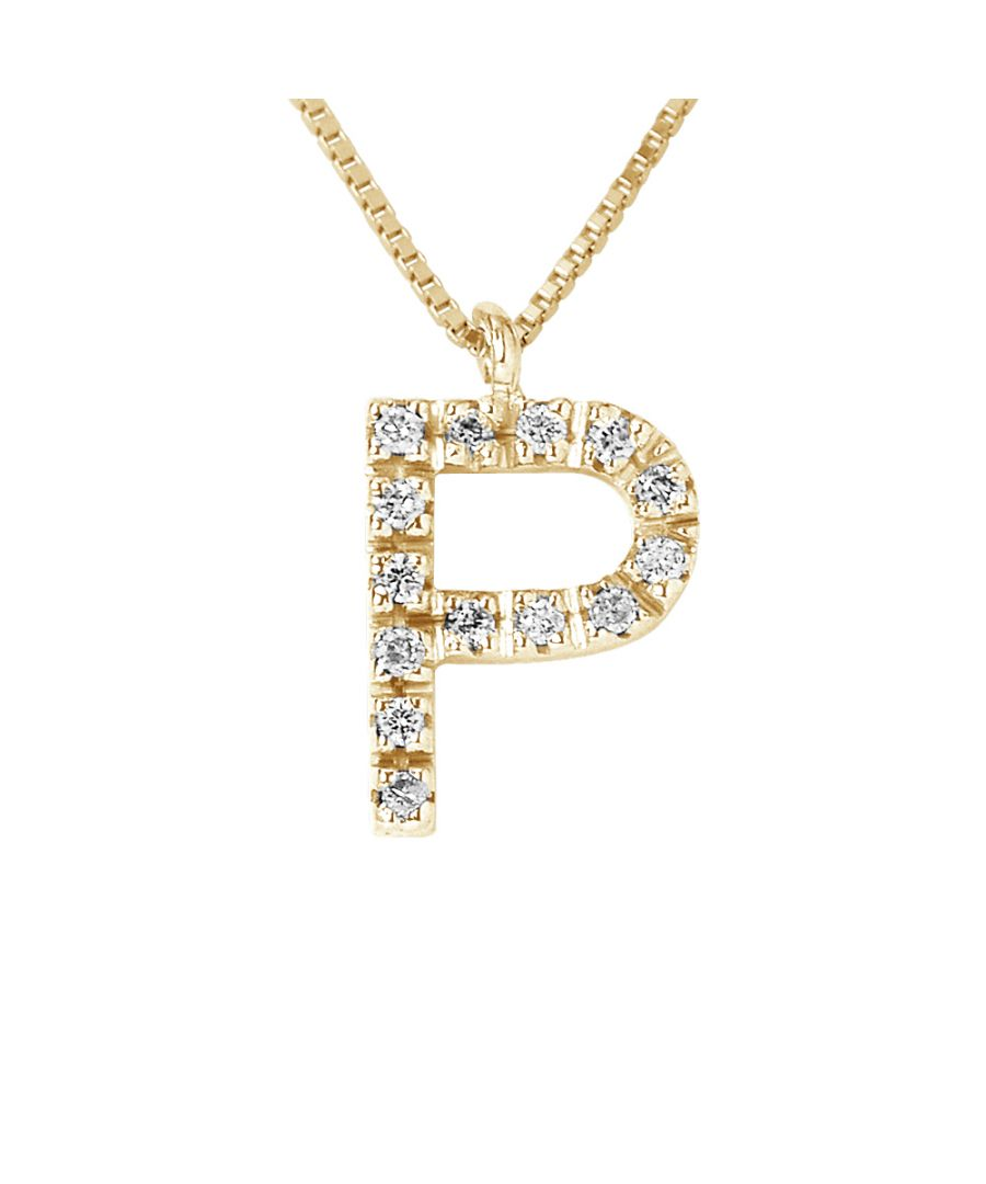 Image for DIADEMA - Necklace with Diamonds - P - Yellow Gold