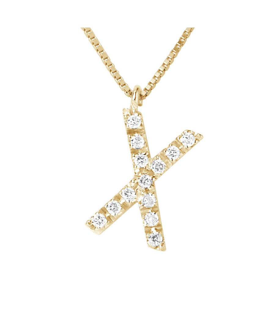 Image for DIADEMA - Necklace with Diamonds - X - Yellow Gold