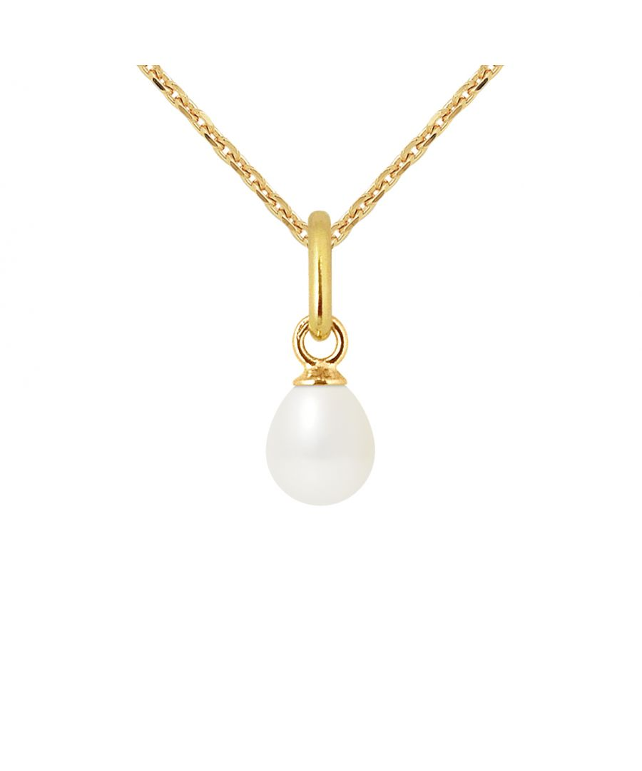 Image for DIADEMA - Pendant - Yellow Gold and Real Freshwater Pearls