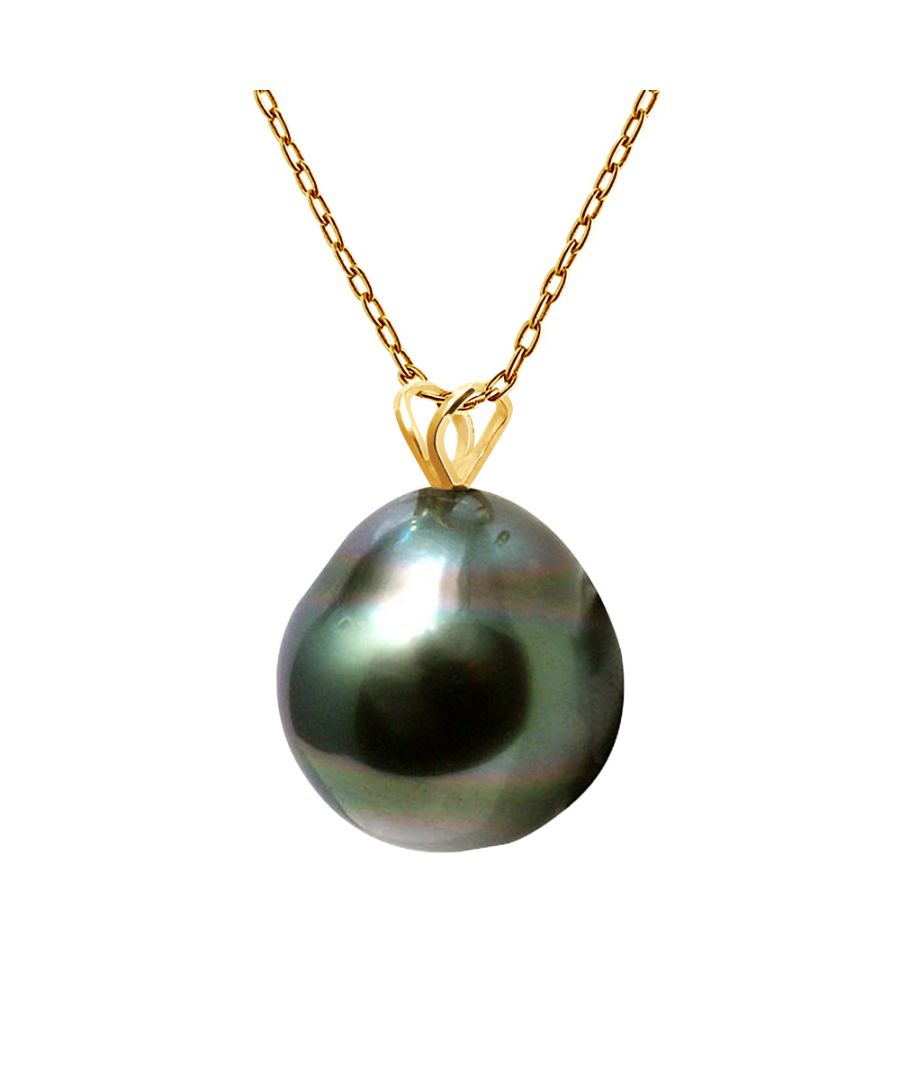 Image for DIADEMA - Pendant - Yellow Gold and Tahitian Pearl
