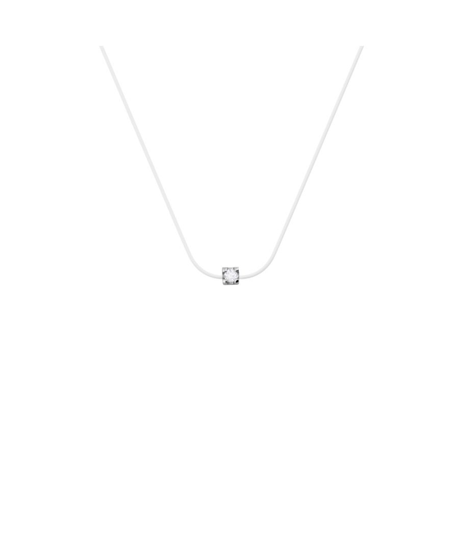 Image for DIADEMA - Necklace Transparent Nylon - Real Diamond
