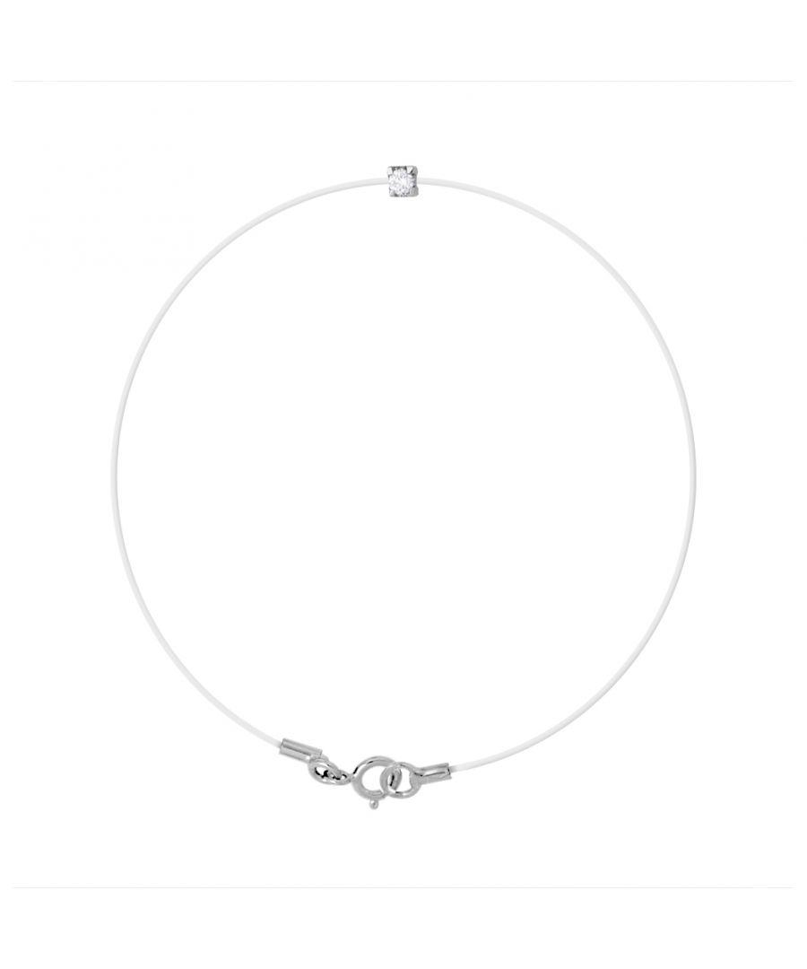 Image for DIADEMA - Bracelet - Transparent Nylon - Real Diamond