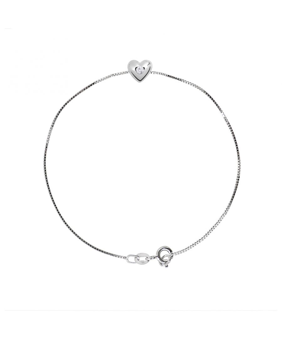 Image for DIADEMA - Bracelet - Heart - Real Diamond