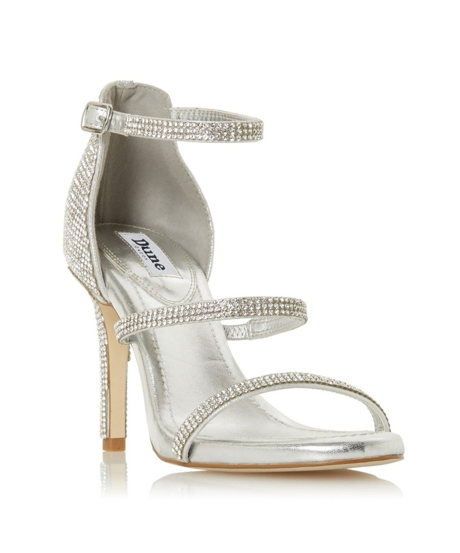 Image for Dune Ladies MAXIE Embellished Triple Strap Sandal