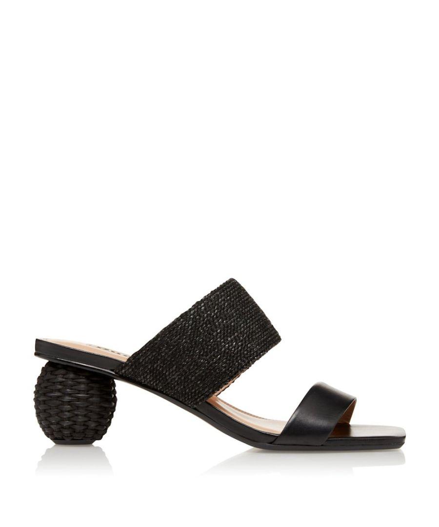Image for Dune Ladies MAZED Natural Raffia Sandals