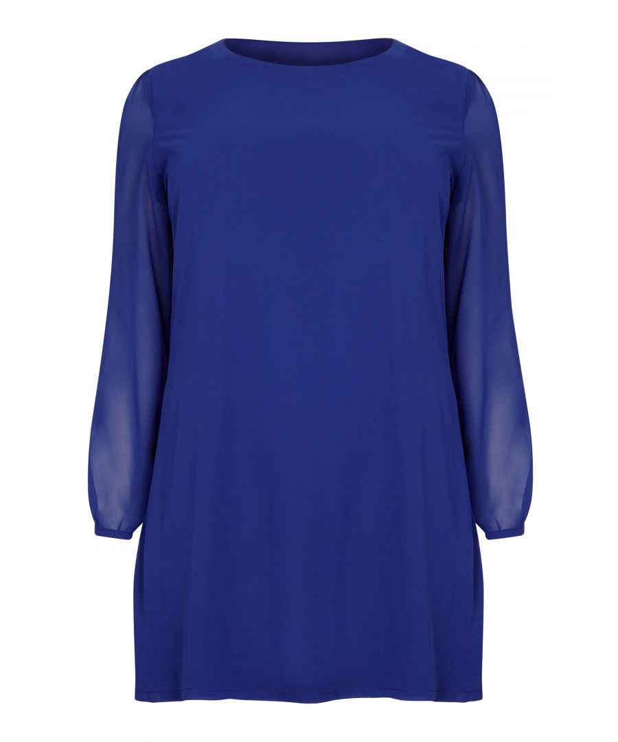 Image for Cold Shoulder Tunic Dress