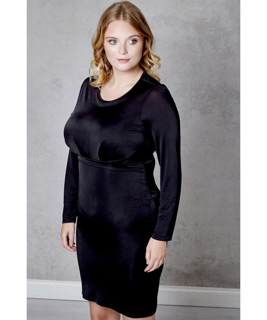 Image for Front Rouched Bodycon Dress