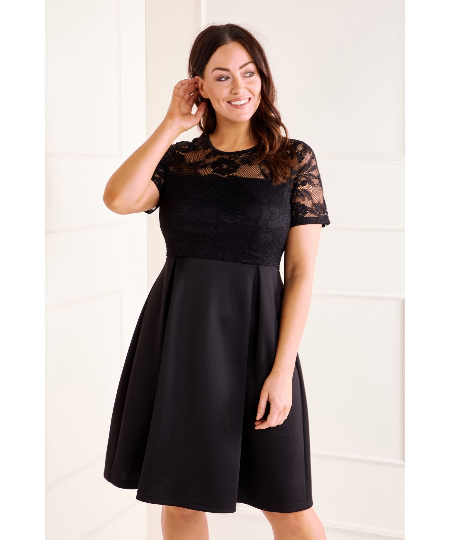 Image for Lace Top Dress