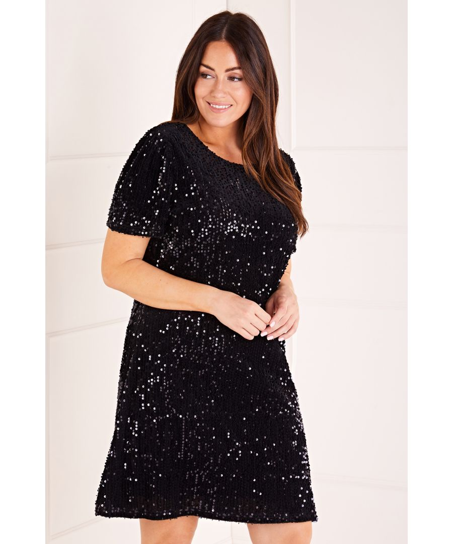 Image for Sequin Shift Dress