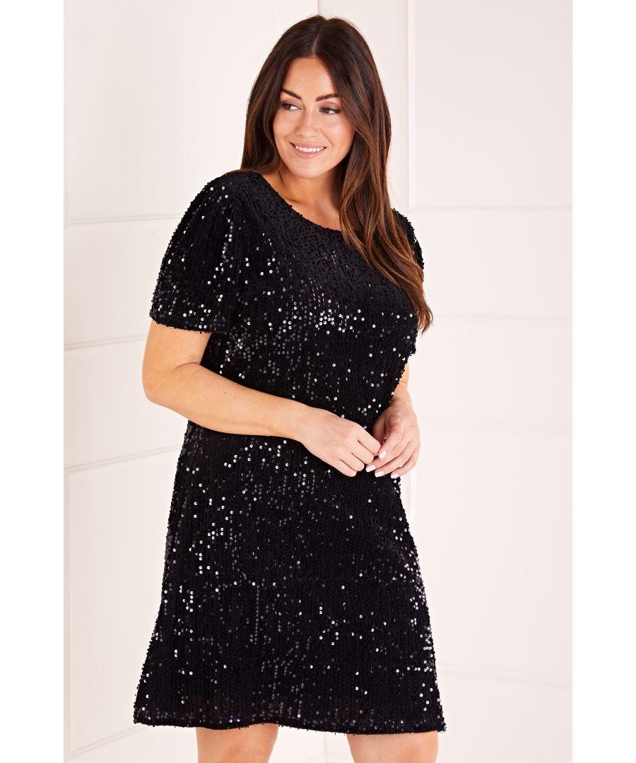 Image for Sequin Shift Dress