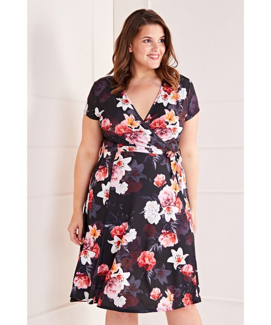 Image for All Over Floral Print Dress