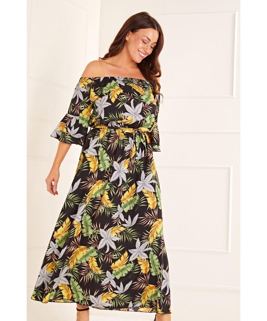 Image for Bardot Printed Maxi Dress
