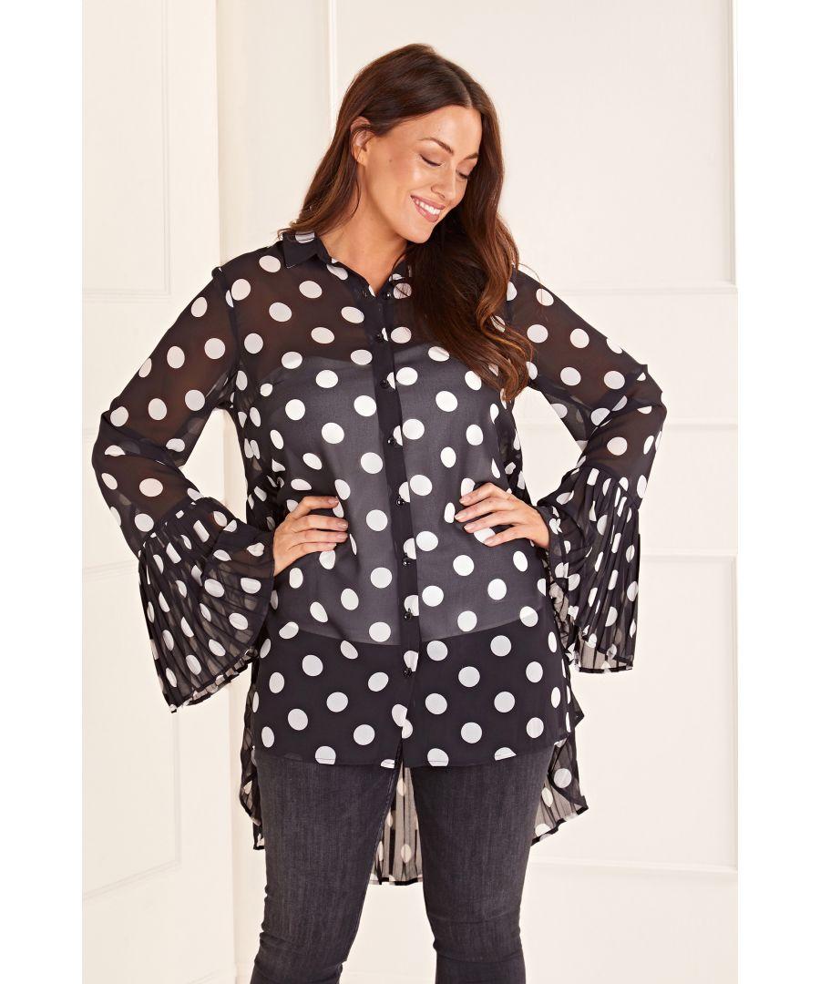 Image for Polka Dot Tunic Top