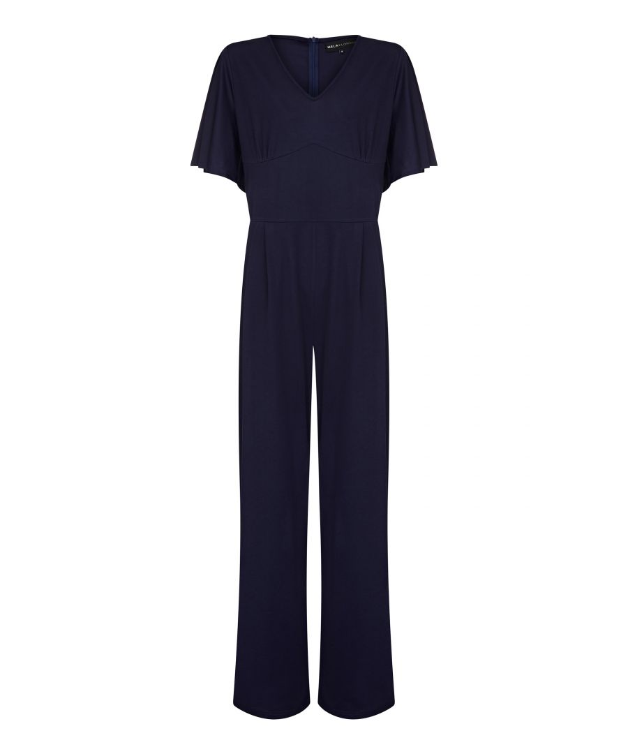 Image for Fluted Sleeve Jumpsuit