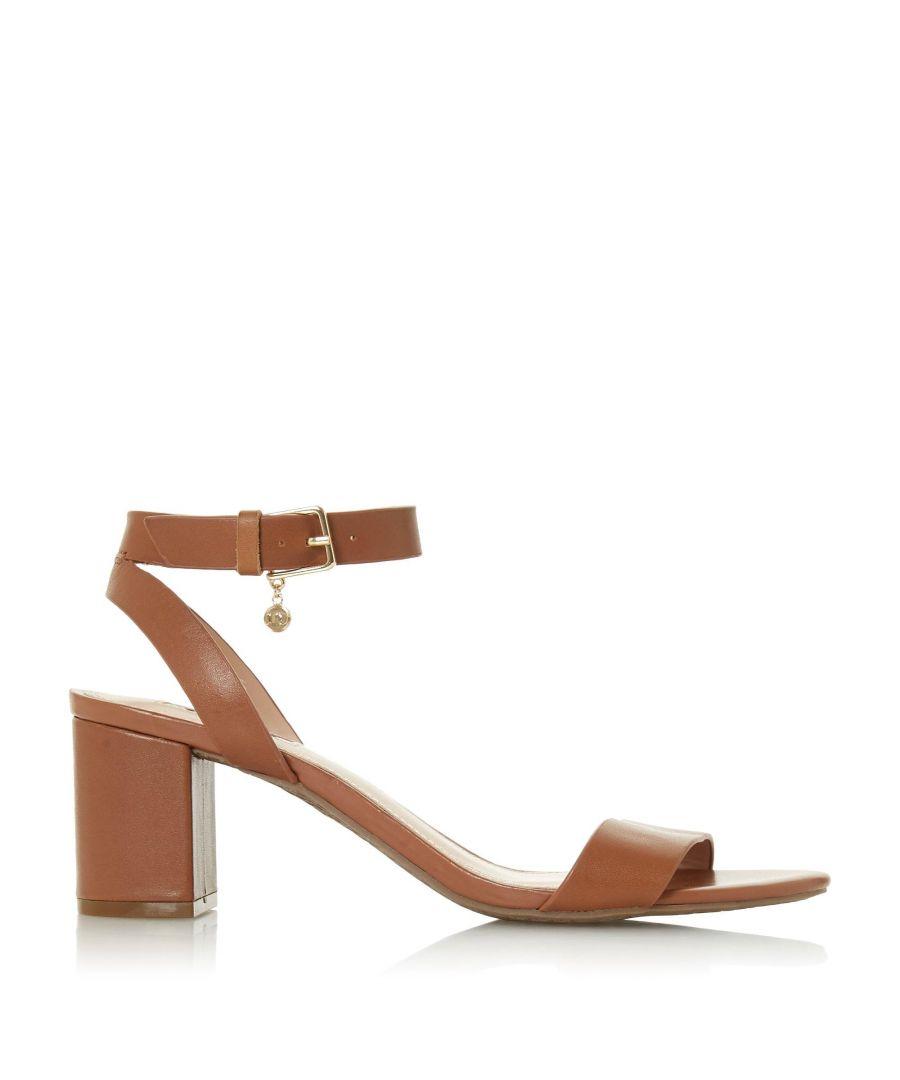 Image for Dune Ladies MEMEE Mid Block Heel Sandals