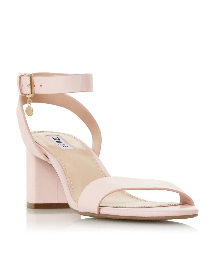 Image for Dune Ladies MEMEE Mid Block Heel Sandal
