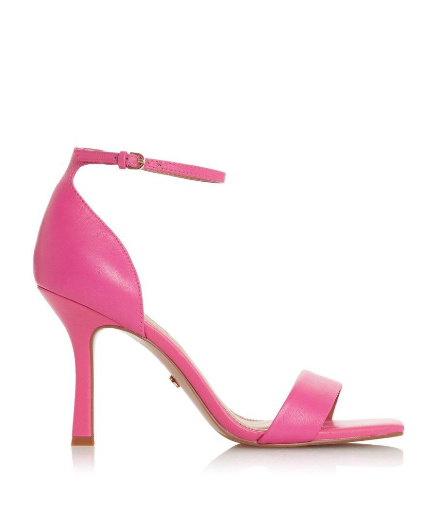 Image for Dune Ladies MERI T Square Toe High Heel Sandals