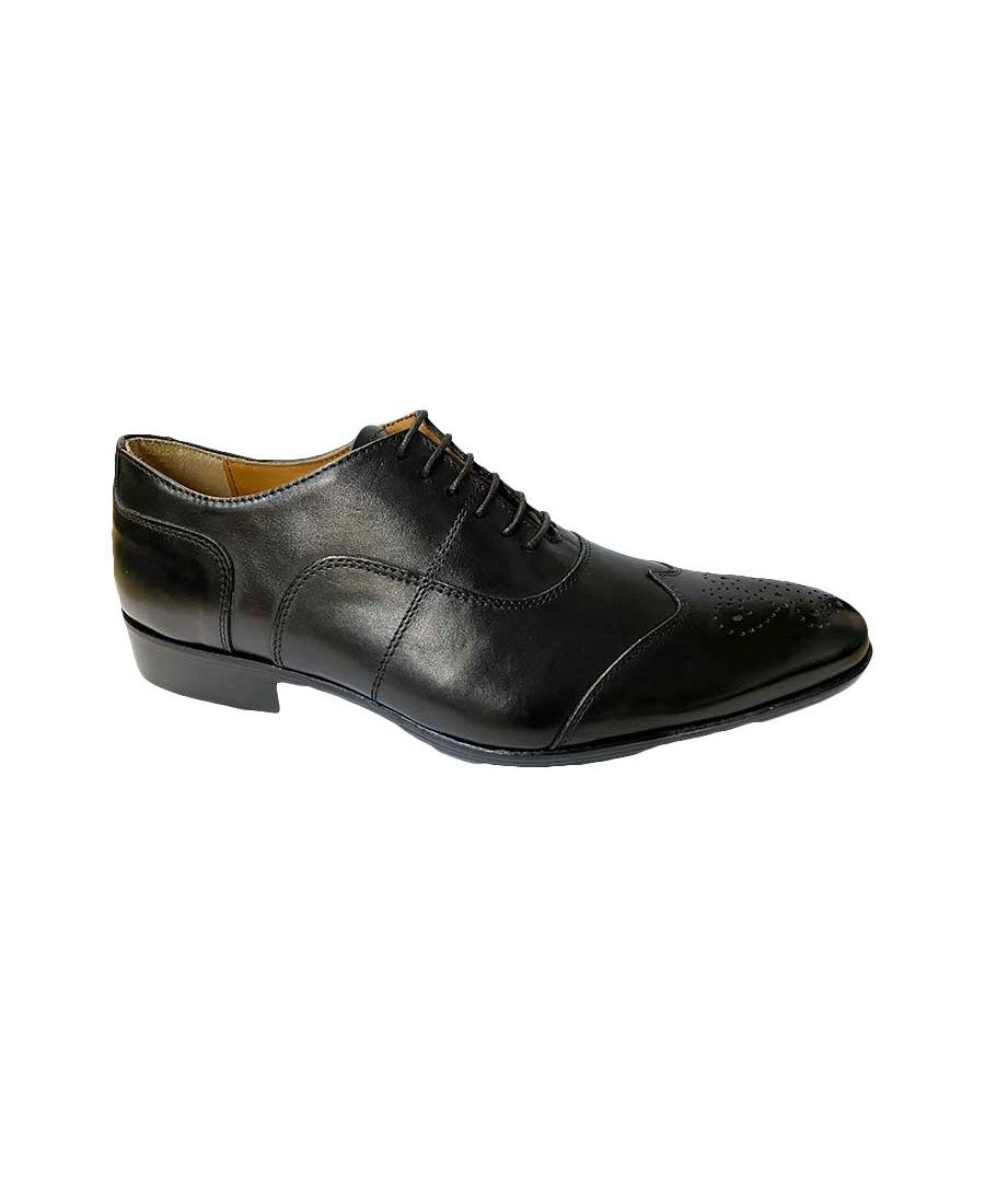 Image for Messina Black Oxford Shoe