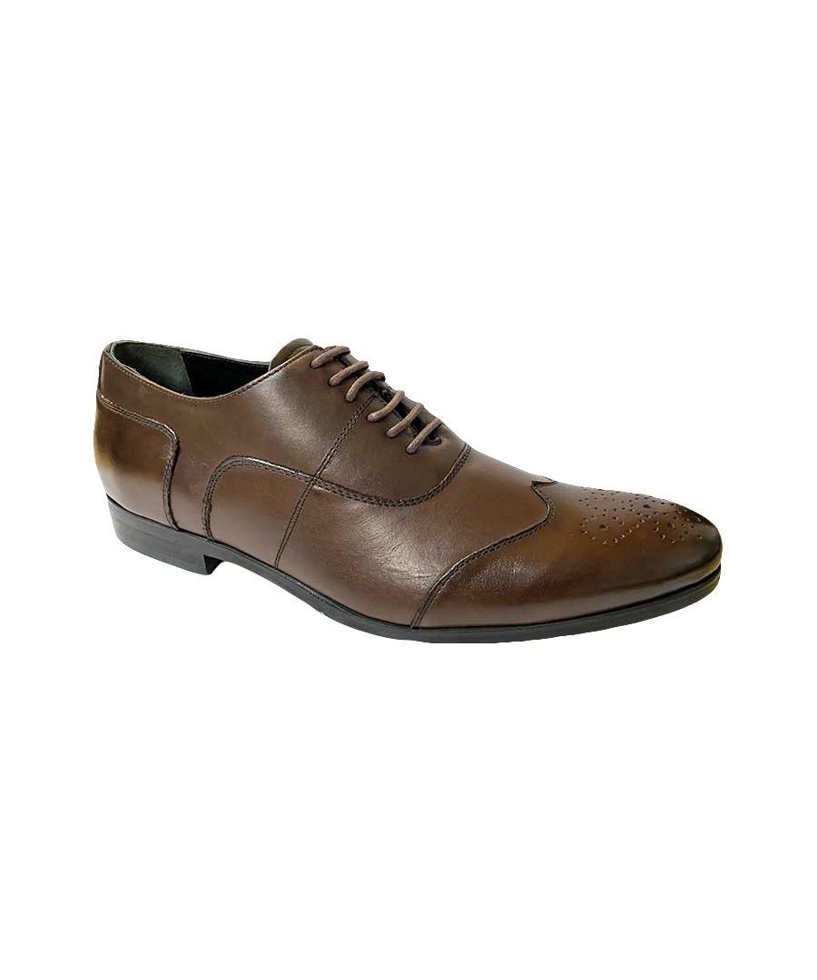 Image for Messina2 Brown Oxford Shoe