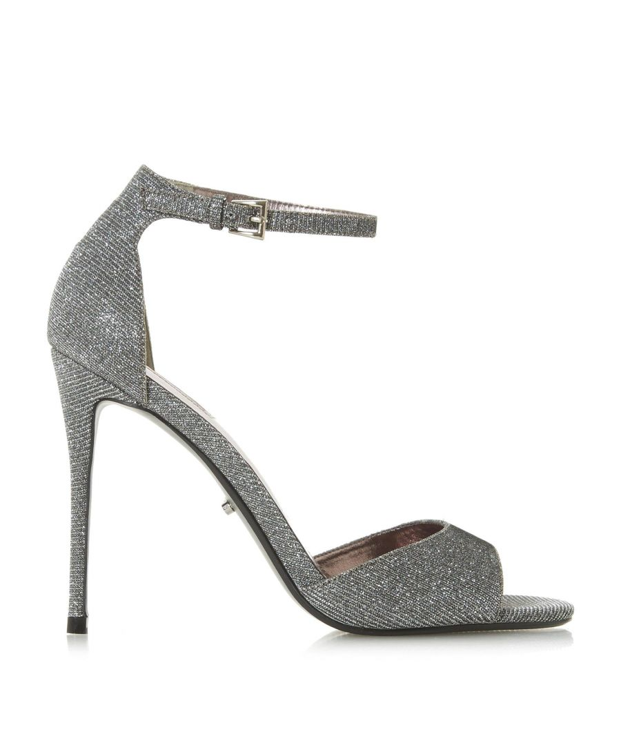 Image for Dune Ladies MIDNIGHTE Lurex Two Part Sandal